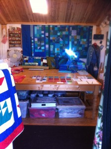 First view inside Quilters Cottage Studio