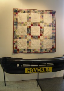 Roadkill wallhanging