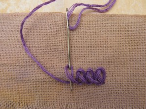 Braid Chain Stitch 2