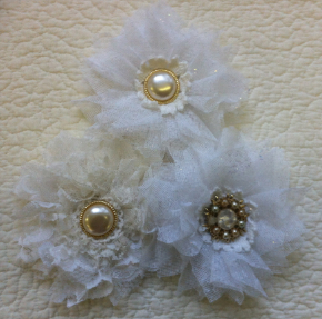 Frothy Shabby Chic Flower