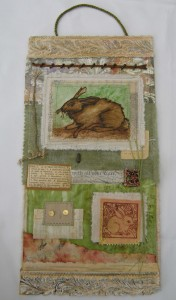 Old Rabbit Collage