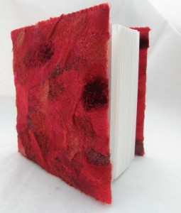 Red Embellished Sketchbook