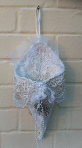 Victorian Inspired Lace Favour