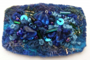 Blue Sparkle Brooch