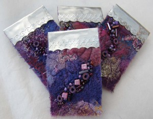 Purple Brooches