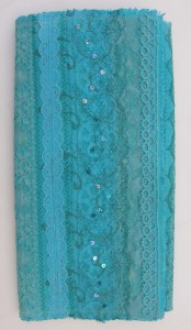 Vintage Lace Blue Keepsake Folder