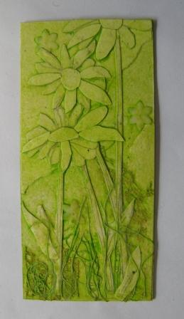 Daisy Collagraph