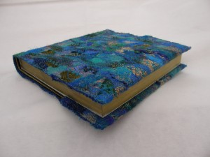 Sketchbook with Blue Embellished Cover