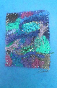 textile card making