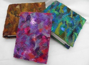 Embellished sketchbooks