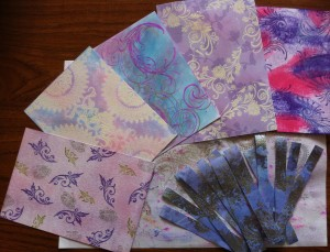 Stamping Background Papers