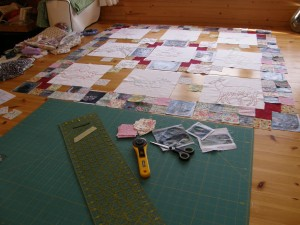 Making The Roadkill Wallhanging