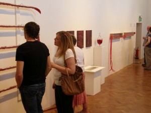 Toxic Exhibition Viewing