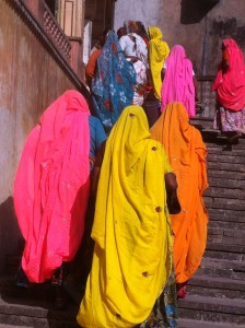 Colourful Sarees
