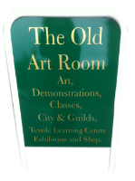 Old Art Room Sign Swaffham